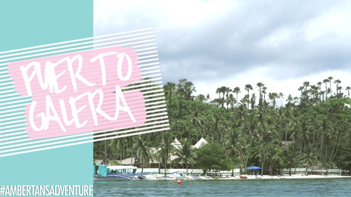 Puerto Galera | Quick Escape | VLOG | Amber Tan