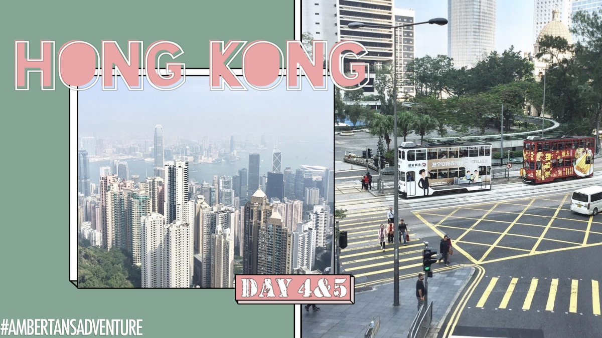 Hong Kong 2018 (Day 4 & 5) | The Peak + Ang daming pinoy | Amber Tan